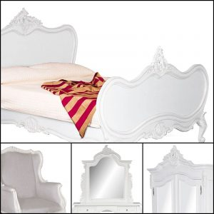 Louis XV in French White